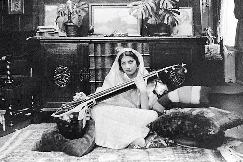 Noor Inayat Khan an der Vina (Foto: noormemorial.org)